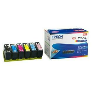 エプソン(EPSON)のpumehana_5様専用【新品】EPSON純正インク 6色セット増量 クマノミ(オフィス用品一般)