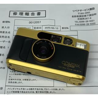 ライカ(LEICA)のCONTAX コンタックス T2 60years 60周年記念限定ゴールドモデル(フィルムカメラ)