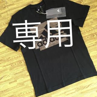 アディダス(adidas)のみゆき様専用 2着 Tシャツ サイズL   ブラックxシルバー(Tシャツ/カットソー(半袖/袖なし))