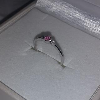ヴァンドームアオヤマ(Vendome Aoyama)の新品保管品 ノーブランド 3号 K18WG リング   ピンキー(リング(指輪))