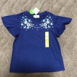 motherways - 120 マザウェイズ 袖フリル Tシャツ