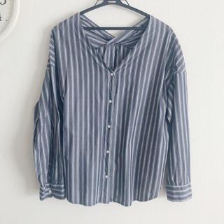 GU - ストライプ シャツ