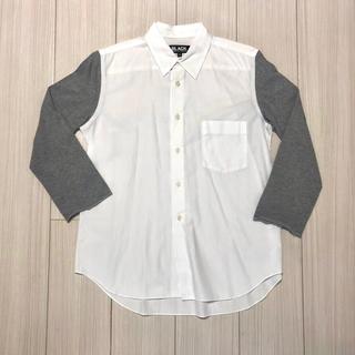 コムデギャルソン(COMME des GARCONS)の着用2回 BLACK COMME des GARCONS 切り替えシャツ(シャツ)