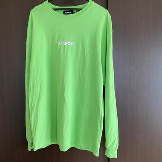 エクストララージ(XLARGE)のX LARGE ロンティー 黄緑(Tシャツ/カットソー(七分/長袖))