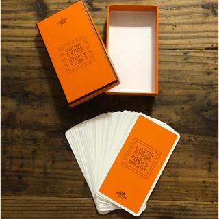 エルメス(Hermes)のHERMES KNOTTING CARDS スカーフ 巻き方 カード(ノベルティグッズ)