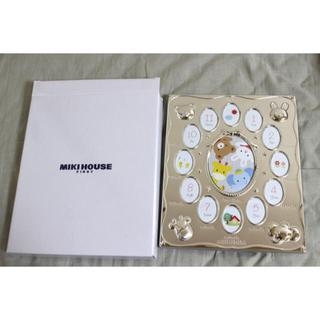 ミキハウス(mikihouse)の【mikihouse】どうぶつ柄12ケ月フォトフレーム(フォトフレーム)