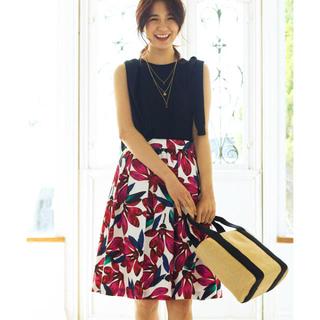 アナイ(ANAYI)の美品 ANAYI アナイ 2017SS スカート 36(ひざ丈スカート)