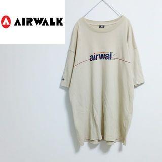 エアウォーク(AIRWALK)のairwalk エアウォーク Tシャツ ビッグロゴ デカロゴ(Tシャツ/カットソー(半袖/袖なし))