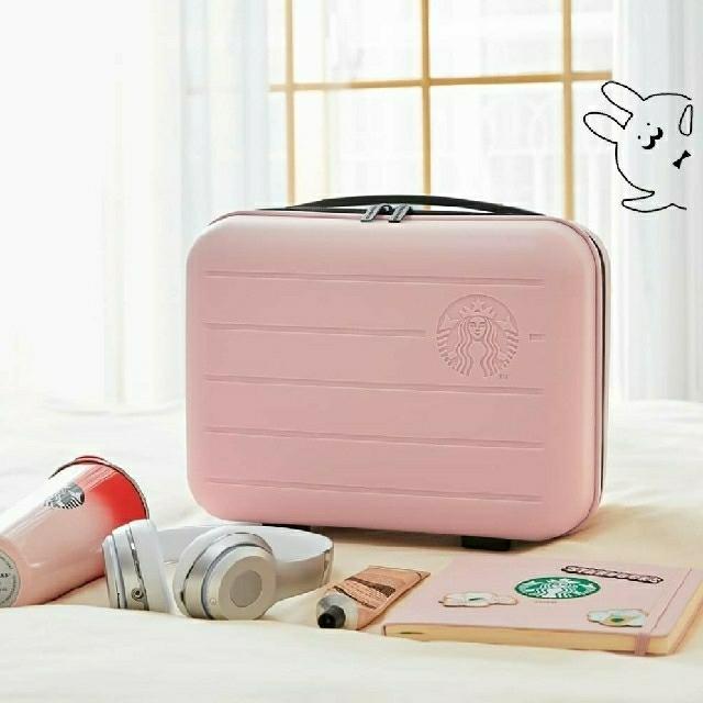 Starbucks Coffee(スターバックスコーヒー)の韓国スタバ★ サマーレディバッグ・ピンク レディースのバッグ(スーツケース/キャリーバッグ)の商品写真