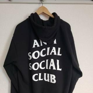 ANTI SOCIAL SOCIAL CLUB ジップパーカー(パーカー)