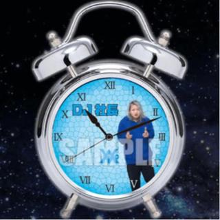 DJ社長 目覚まし時計(置時計)