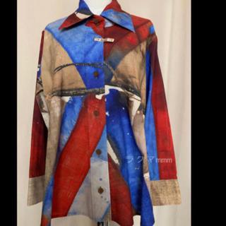 ヴィヴィアンウエストウッド(Vivienne Westwood)のヴィヴィアン ウエストウッド ユニオンジャック シャツ/S(シャツ/ブラウス(半袖/袖なし))