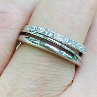 ダイヤモンド ダイヤ リング 指輪 プラチナ Pt950(リング(指輪))