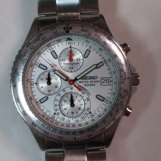 SEIKO - セイコー・パイロットクロノグラフ腕時計