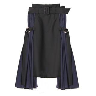 パメオポーズ(PAMEO POSE)の【未使用品・タグ付き】PAMEO POSE スカート(ひざ丈スカート)