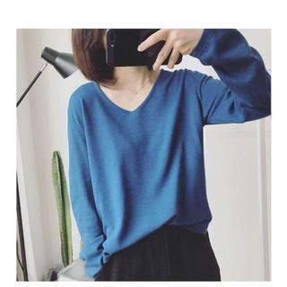 ディーホリック(dholic)の韓国 ニットシャツ(シャツ/ブラウス(長袖/七分))