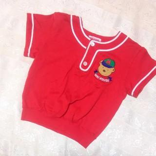 mikihouse - ビンテージ オールドミキハウス ユニフォーム Tシャツ