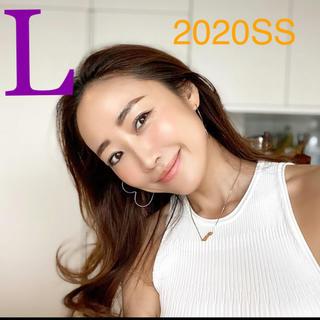 ZARA - *2020SS*ZARA ロングワンピース ニット ホワイト 神崎恵さん