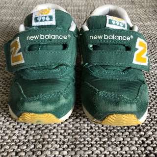 New Balance - ニューバランス 996 グリーン 14.5cm