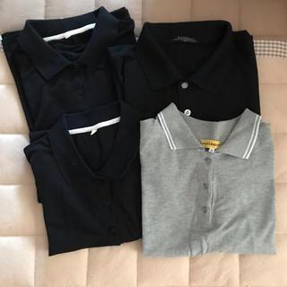 中古 ポロシャツ 4枚 大きいサイズ 半袖三昧と長袖一枚(ポロシャツ)