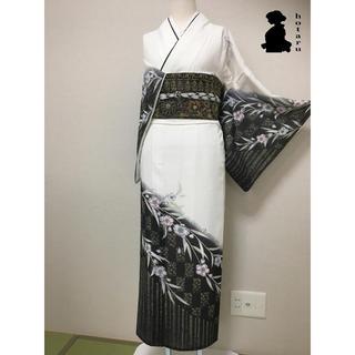 なちゅ様専用 夏着物【訪問着】辻ヶ花・総手縫い仕立て・絽素材(着物)