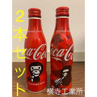 コカコーラ(コカ・コーラ)のBAPE コカ•コーラ 2本セット amazon限定 a bathing ape(ソフトドリンク)