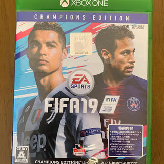 エックスボックス(Xbox)のFIFA19 CHANPIONS EDITION(家庭用ゲームソフト)