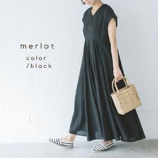 merlot - 新品*merlot 大人ナチュラルワンピース