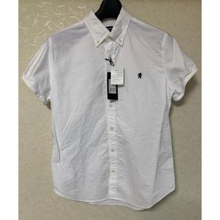 ジムフレックス(GYMPHLEX)の【未使用タグ付】ジムフレックス シャツ 半袖 白シャツ(シャツ/ブラウス(長袖/七分))