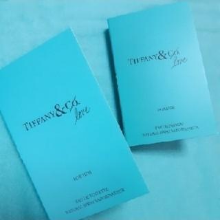 ティファニー(Tiffany & Co.)のティファニー オードパルファム FOR HER & FOR HIM(ユニセックス)