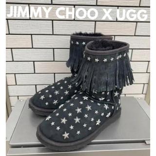 JIMMY CHOO - JIMMY CHOO X UGGムートンブーツ