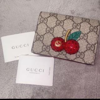 Gucci - GUCCI 財布 チェリー さくらんぼ グッチ