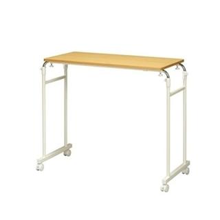 永井興産 伸縮式ベッドテーブル ナチュラル(コーヒーテーブル/サイドテーブル)