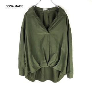 SCOT CLUB - 【DONA MARIE】  フェイクスウェード タックイン ブラウス