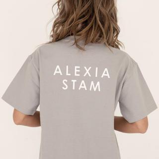 ALEXIA STAM - ALEXIA STAM ロゴT