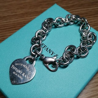 Tiffany & Co. - ティファニー ハートタグブレスレット