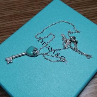 ティファニー(Tiffany & Co.)のティファニー キーハートネックレス(ネックレス)