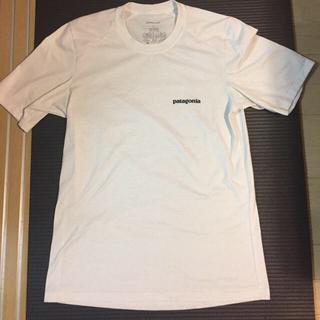 パタゴニア Tシャツと無印カーテン(カーテン)