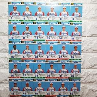 オリックスバファローズ(オリックス・バファローズ)のタカラ プロ野球カードゲーム 90年度版「近鉄バファローズ 」/全30枚(野球/サッカーゲーム)