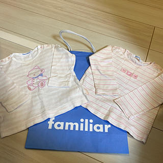 ファミリア(familiar)のファミリア   ロンT 長袖 80(Tシャツ)