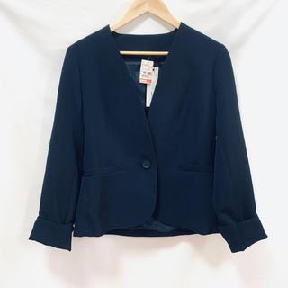 シマムラ(しまむら)の【新品】テーラードジャケット スーツ オフィス ブラック (テーラードジャケット)