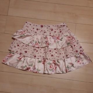 バービー(Barbie)のBarbie バービー スカート 花柄(ミニスカート)