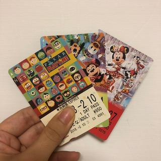 ディズニー(Disney)のディズニーリゾートライン フリーパス(遊園地/テーマパーク)