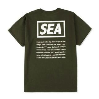 シュプリーム(Supreme)の【Mサイズ】 WIND AND SEA CASETIFY TEE Olive(Tシャツ/カットソー(半袖/袖なし))