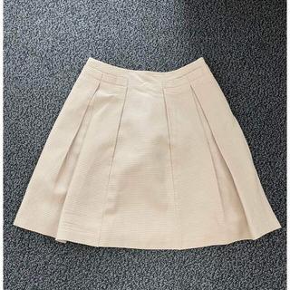 アナイ(ANAYI)のアナイ タックデザインフレアスカート (ひざ丈スカート)