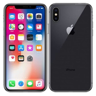 Apple - 【美品】 iPhone X 64GB 国内版SIMフリー MQAX2J/A