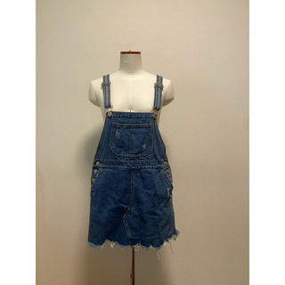 スピンズ(SPINNS)の韓国通販 デニム サロペットスカート (サロペット/オーバーオール)