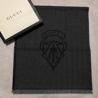 グッチ(Gucci)の『大幅値下げ』正規品 新品・未使用 GUCCI マフラー ウール クレスト(マフラー)