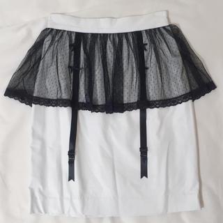 イーハイフンワールドギャラリーボンボン(E hyphen world gallery BonBon)のbonbon ガータースカート(ミニスカート)