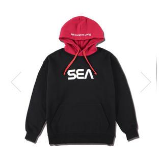 シー(SEA)のwind and sea パーカー(パーカー)